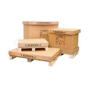 Details about Palletised Container Box with Pallet for Shipping Export *4  SIZES TO CHOOSE*