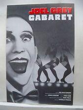 CABARET Herald JOEL GREY / HAROLD PRINCE Tour BOSTON Colonial Theatre 1988