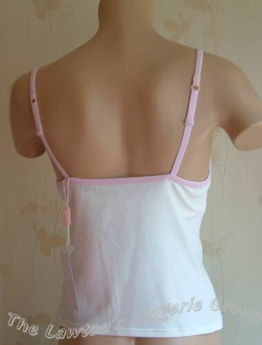 BNWT Lepel LP94400 Concealed Underwired Bra Camisole in Cream//Pink Pink//Cream