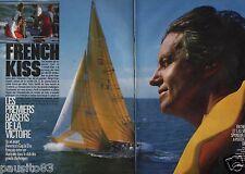 Coupure de presse Clipping 1986 French Kiss & Marc Pajot (4 pages)