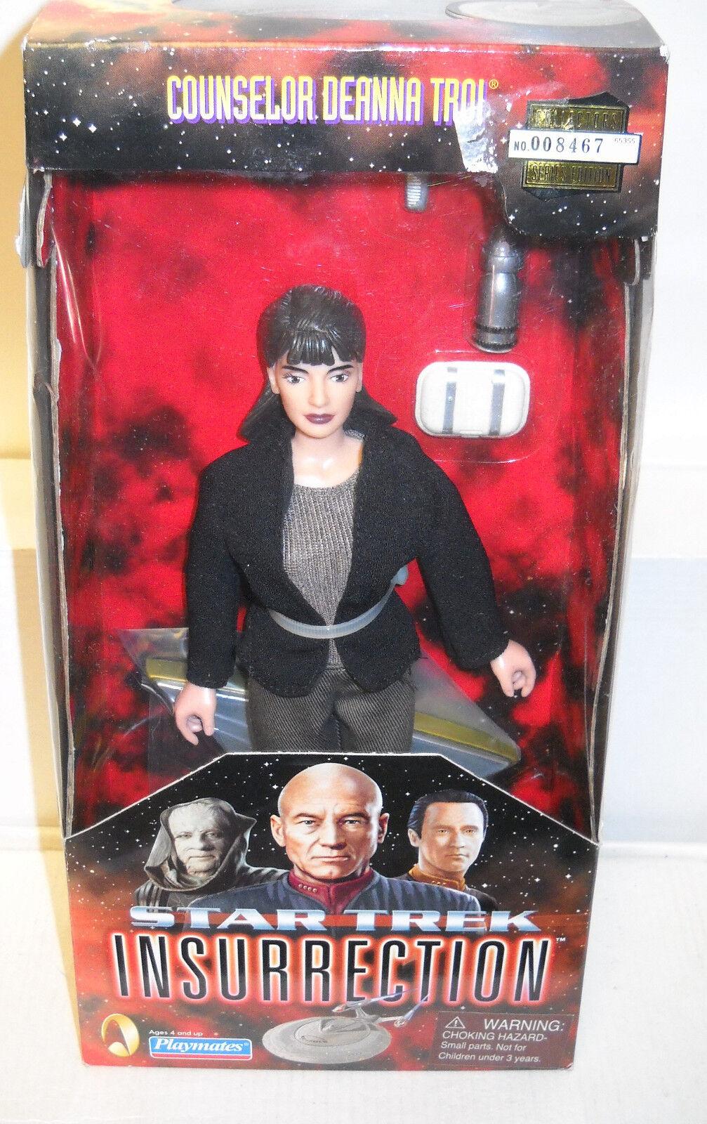 5366 NRFB Playmates Star Trek Insurrection Counselor Deanna Troi