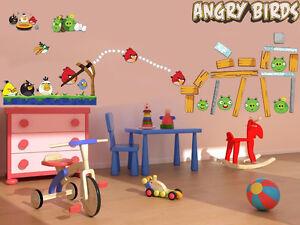 Angry-Birds-Large-Wall-Decor-Vinyl-Sticker-Decal-Removable-Nursery-Art-Mural-boy