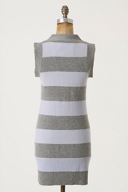 NWT Anthropologie Striped Striped Striped Tunic 100% Cashmere Sweater Soft Beautiful Size M 5a0d71