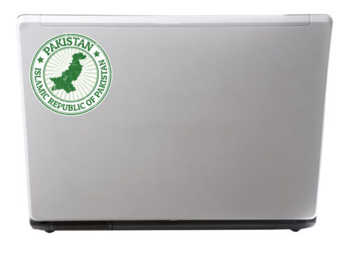 2 x Pakistan Vinyl Sticker Decal iPad Laptop Car Luggage Travel Tag Gift #4778