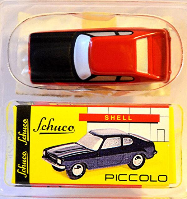 Ford Capri GT rot red 1:90 Schuco Piccolo 05242