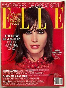 CHRISTY TURLINGTON September 2000 ELLE Magazine RALPH FIENNES