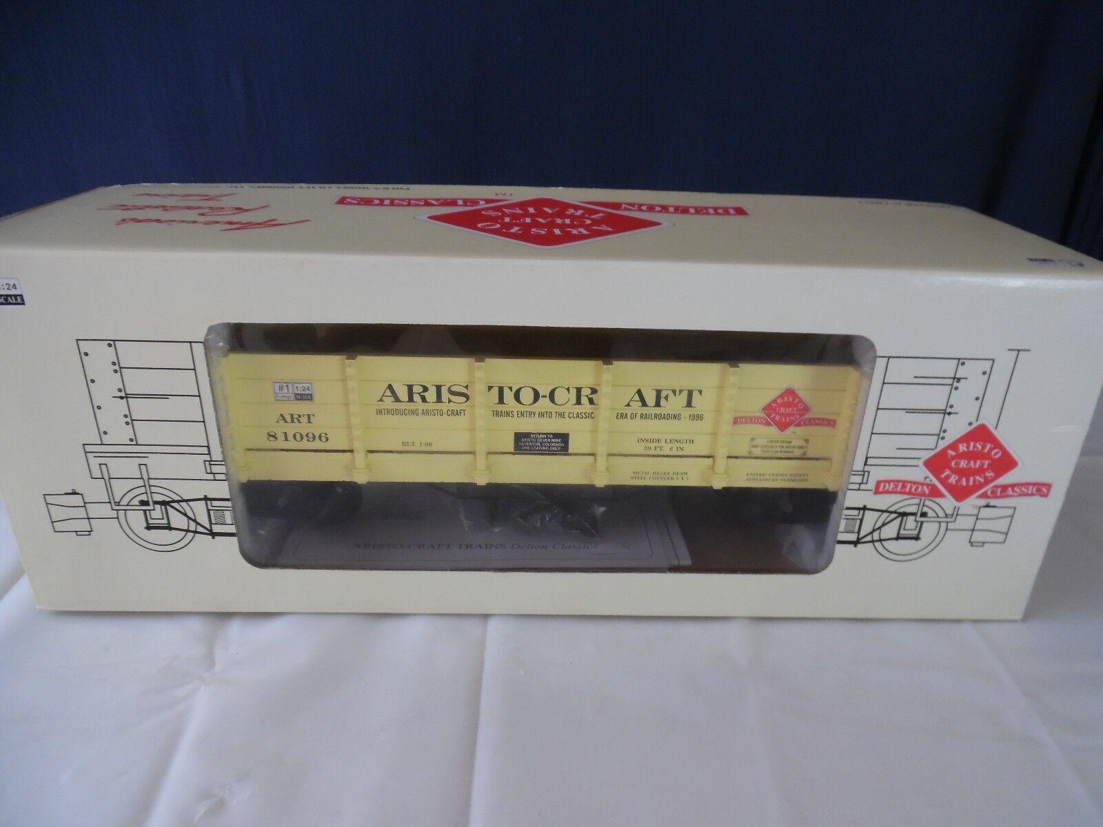 ARISTO-CRAFT ART-81096 WOOD GONDOLA, ARISTO CLUB CAR 1996 Limited Edition