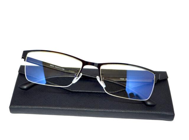 Luxusmode feinste Auswahl detaillierter Blick SIAH - Blaulicht Filter Metallrahmen Büro Blaulichtfilter Brille mit UV  Schutz