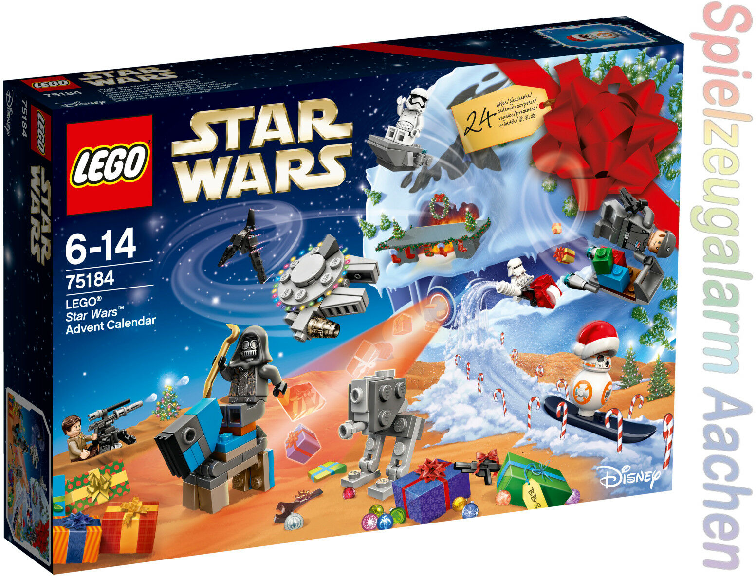 Lego ® 75184 Star Wars Wars Wars ™ calendario de Adviento de l 'Avent Advent Calendar 2017 6bf354