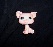 622 LITTLEST PET SHOP BABY PEACH PINK POLKA DOT EARS PIG PIGGY BLUE EYES TOY LPS