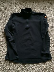 Arc-039-teryx-Arcteryx-Mens-size-XL-Black-Base-Layer-Long-Sleeve-Shirt