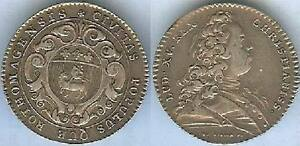 Jeton-royal-Louis-XV-ROUEN-argent-silver-8-gr-d-30mm-TBa-TTB