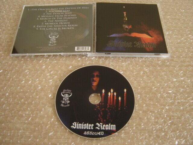 SINISTER REALM: Same (s/t) * First Press CD ! * Black Sabbath Dio Rainbow Ram