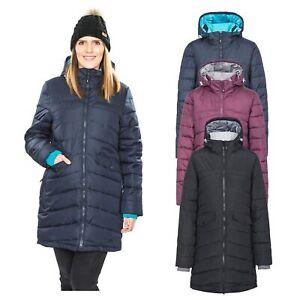 Trespass-Homely-Womens-Padded-Jacket-Long-Coat-in-Black-Purple-amp-Navy