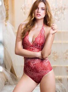 a42b21b967 Victoria s Secret Very Sexy Amp Lace Chiffon Lingerie Teddy Romper ...