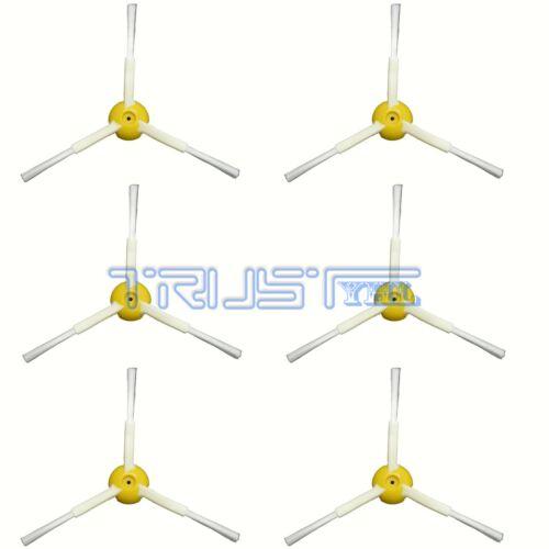 6 Pack 3-Arm Side Brush for iRobot Roomba 800 Series 800 870 880 900 980