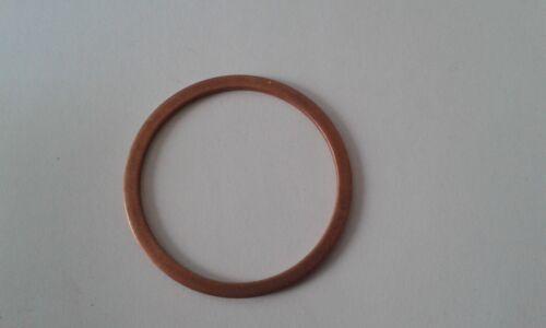 1 Stück Kupferdichtring  Dichtung Kupfer 30x36x2 mm DIN 7603  Form A