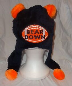 87f9ee64bcecfd Animal Winter Hat Navy Blue CHICAGO BEARS