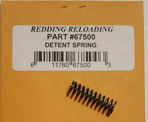 FREE SHIPPING 67500 REDDING T7 TURRET DETENT SPRING BRAND NEW