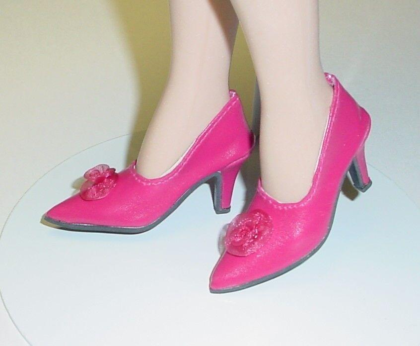 Monique Doll Shoes My Fair Lady Pink 48mm