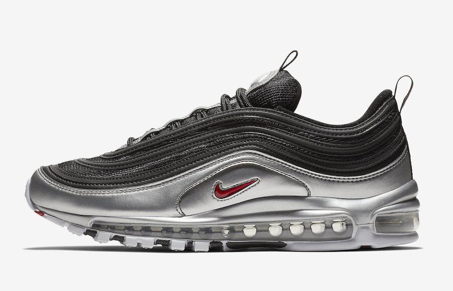 Nike air air air max 97 - schwarz metallic silber pre-order größe 8 - 13 100% authentische ee2890
