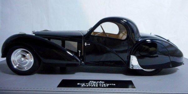 ILARIO IL1812 - Bugatti T57SC Atalante 1937  sn57523 Original & Current Car 1 18