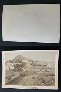 France-Hyeres-les-Palmiers-vue-generale-prise-de-l-039-avenue-Victoria-Vinta