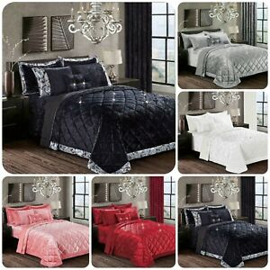 New Luxury SANTIAGO Bedspread Comforter Set Bed Throw Comforter with Pilow Shams