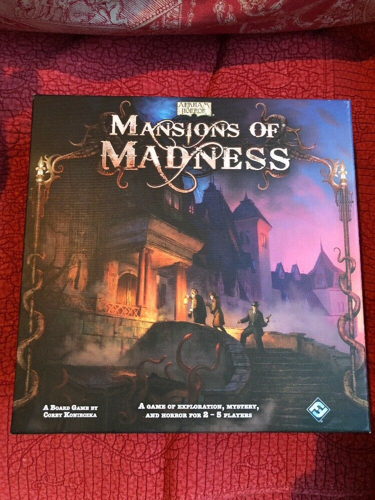 Arkham Horror -  Mansions of Madness 2010 - Incomplete