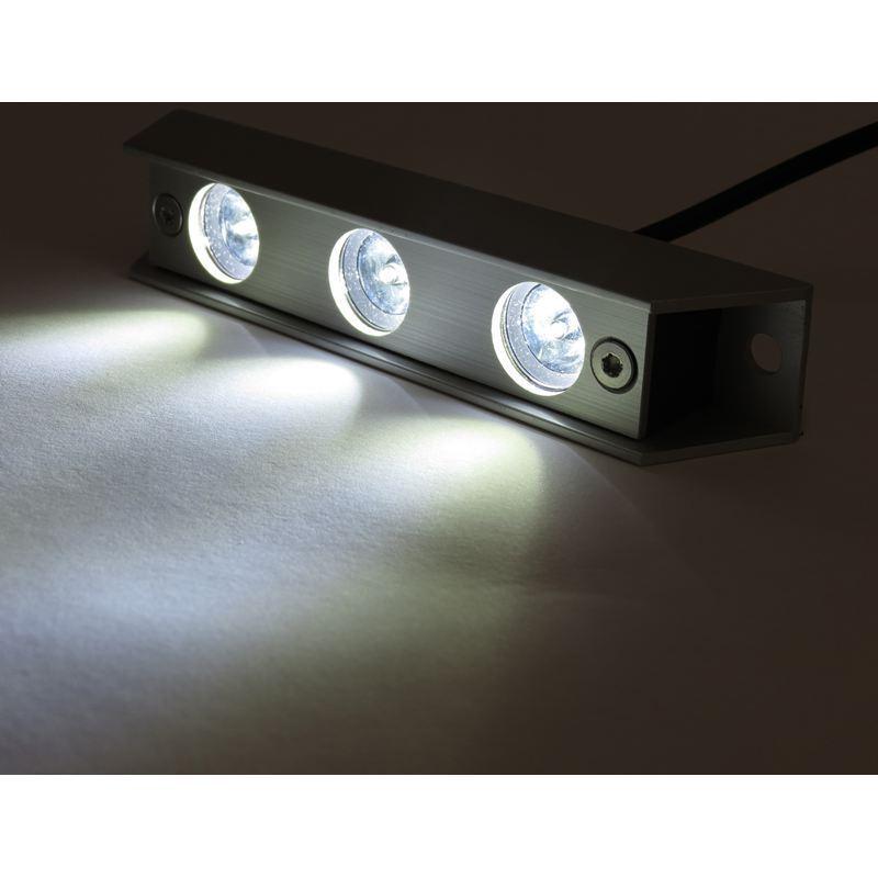 Sublight LED Unterwasser-Lampen   Leuchten für Stiefele - Xenon Weiß