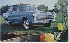 Ford Consul Cortina De Luxe 2 door original Postcard No. A2039/12/62