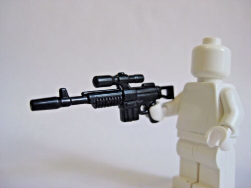 Rebel Alliance Hoth NEW! Brickarms A295 Rifle for Star Wars Minifigures