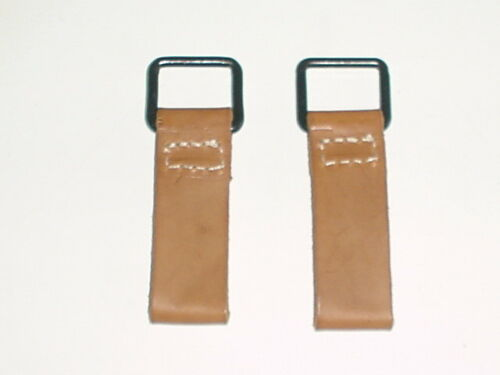 AUSTRIAN ARMY WW1 WWI REPRO SET OF 2 Y-STRAP BELT LOOPS D-RINGS marked 1915