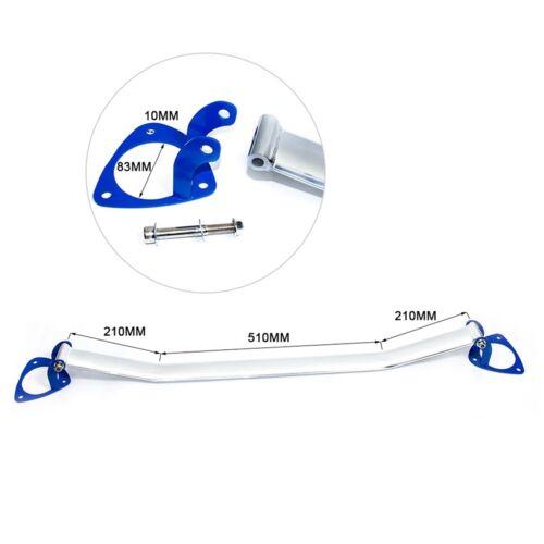 For 09-13 INFINITI G37 Aluminum Front Engine Upper Strut Bar Brace 2 Point Blue