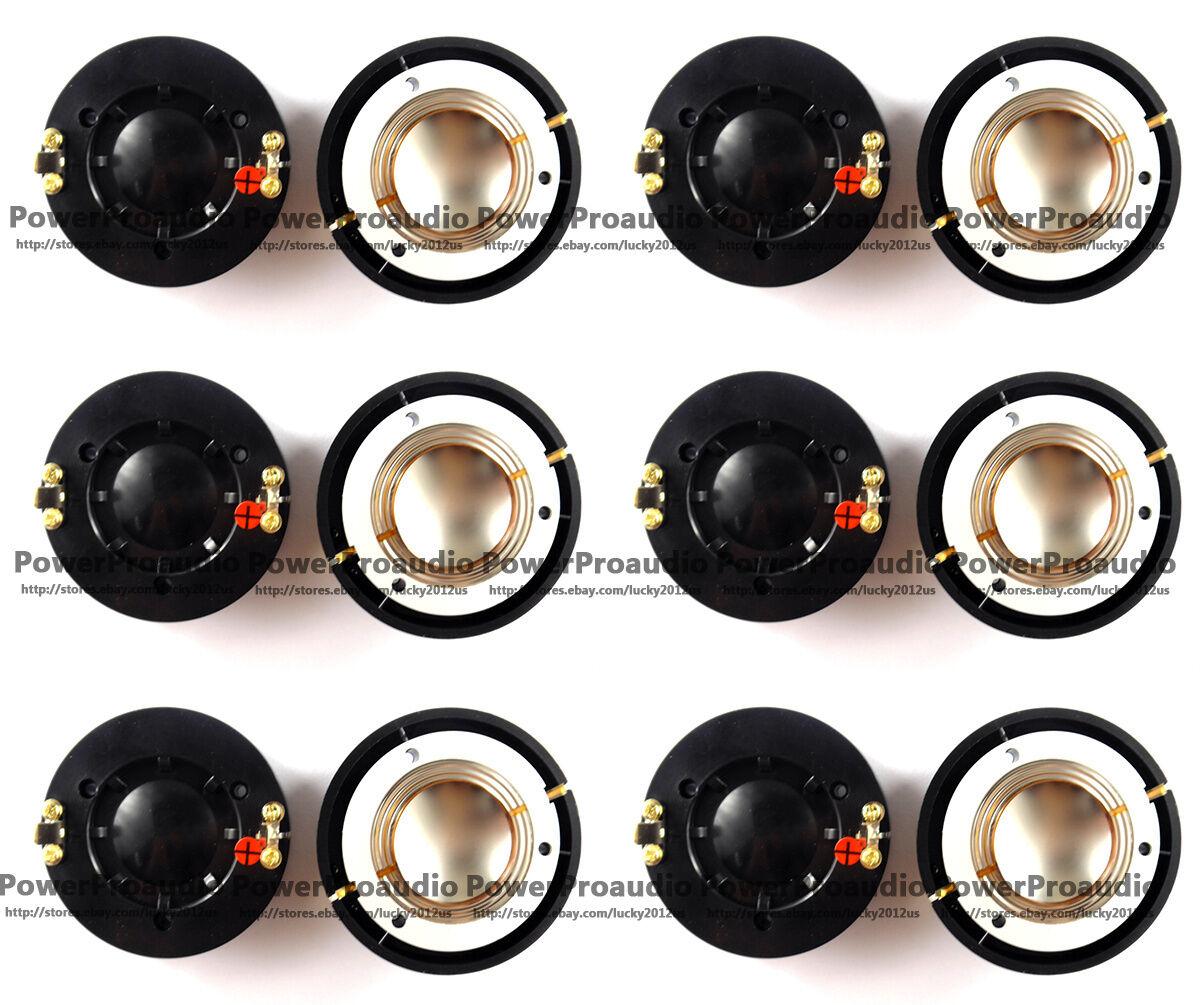 12pcs Diaphragm for Behringer Eurolive B212, B215,P Audio PAD-DE34,Alto PS4 8ohm