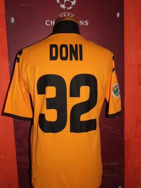 DONI TIM CUP ROMA 200708 MATCH WORN MAGLIA SHIRT JERSEY CALCIO CAMISETA SOCCER