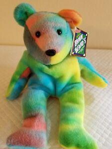 529817e44ee Ken Griffey Jr Bamm Beano s  24 rainbow beanie baby