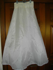 Sweetheart-Bridal-Slip-Size-10-waist-27-034-worn-only-2-hours-great-price