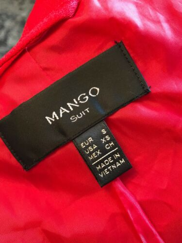 Small Mango Immaculate Worn Red Once Jacket Xsmall Jacket 1AFYHxwF