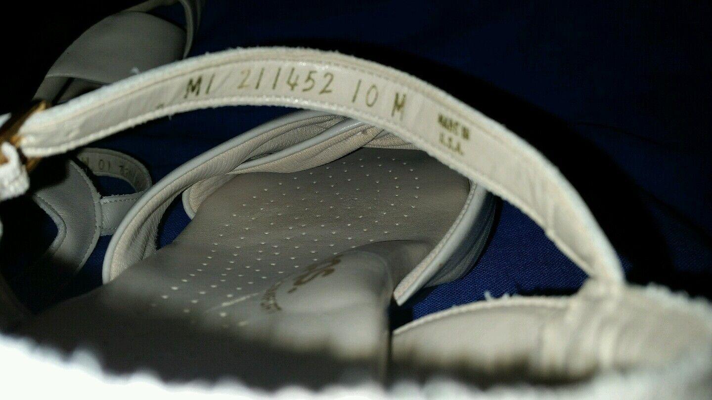 Nice Comfy Dress Bone SAS Tripad Comfort San Antonio Schuhes Größe 10M  Sandales