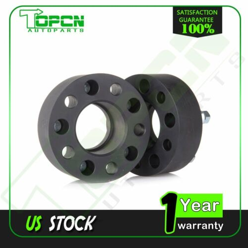 """2/"""" 5x4.5 to 5x4.5 Wheel Spacers 1//2/""""x20 Studs for 1980-2001 Jeep Cherokee 2"""