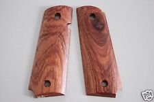 1911 WOOD GRIPS FULL SIZE CLONES FIT COLT KIMBER TAURUS RUGER SMOOTH PISTOL # 62