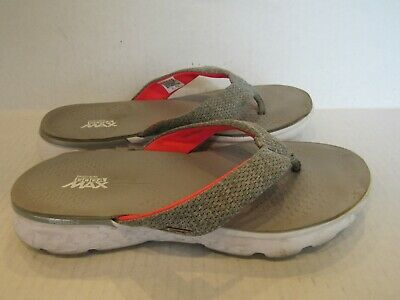 Womens Skechers H2 Goga Lagoon SandalsFlip Flops Color Black Gray | eBay