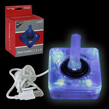 Blue LED RetroLink Atari Joystick USB Controller for PC & Mac