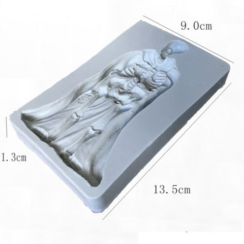 Halloween Pumpkin Zombie Silicone Mold Baking Mould Topper Sugarcraft Decoration