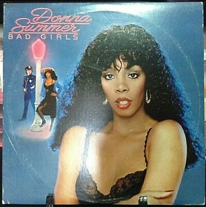 DONNA-SUMMER-Bad-Girls-Double-Album-Released-1979-Vinyl-Record-Collection-USA