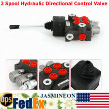 2 Spool Hydraulic Directional Control Valve Compact 11gpm For Tractors Loaders