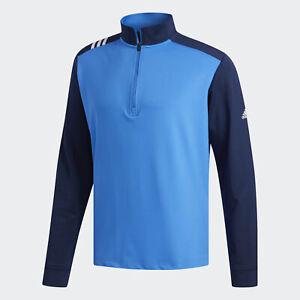 adidas-3-Stripes-Core-1-4-Zip-Sweatshirt-Men-039-s