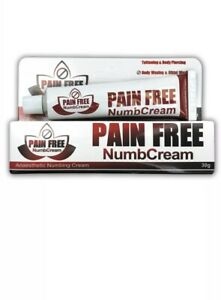Pain Free Tattoo/Cosmetic Numbing Cream 30gram Numb\'s Skin Topical ...