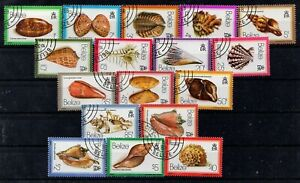 BELIZE-471-487-SEA-SHELLS-CTO-NH-1601065
